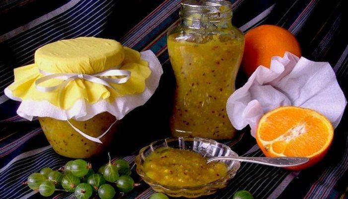 крыжовниково-апельсиновое желе