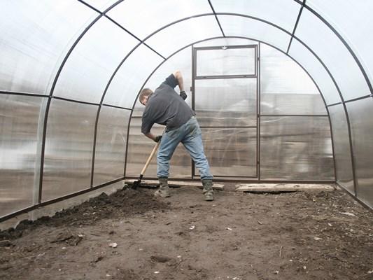 обработка теплицы из поликарбоната осенью от фитофторы