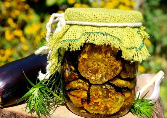 вяленые баклажаны на зиму