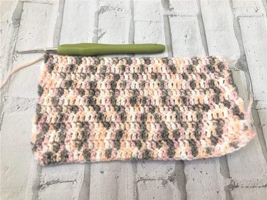 вязание мочалки варежки