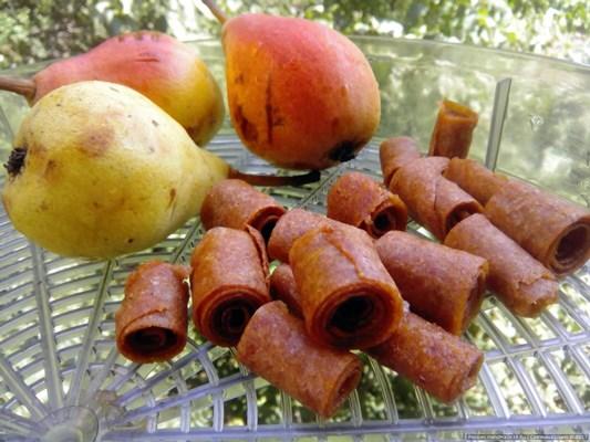 пастила яблочно грушевая