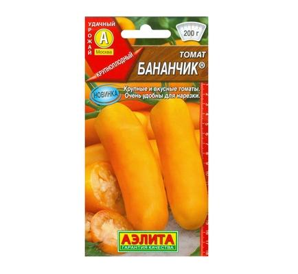 томат бананчик аэлита отзывы